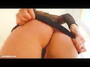 Cougar manhandling the pool fellow
