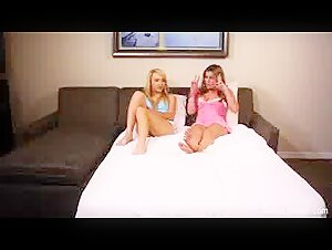 Julia Ann bj's the salami in the cage