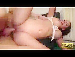 Saki Ogasawara has her gash shaven and then played