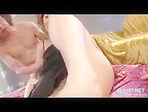 Huge-chested Stunner Humps Youthfull Stud